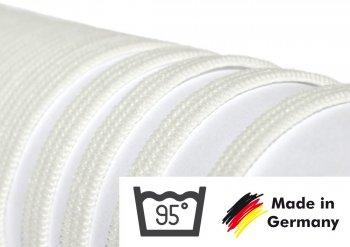 Gummiband 4 mm – 10 Meter (kochbar bis 95°) weiß