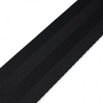PES Gurtband - 50 mm - schwarz - 50-m-Rolle