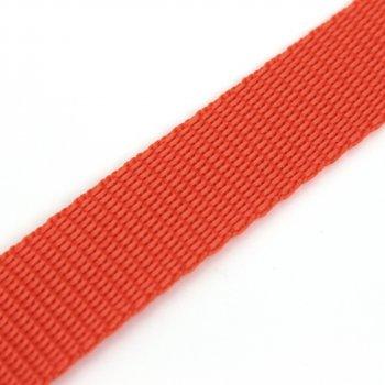 Gurtband 20 mm - PP - orange - 50-m-Rolle