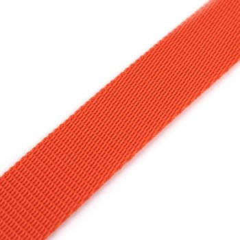 Gurtband 25 mm - PP - orange - 50-m-Rolle
