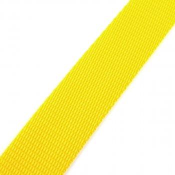 Gurtband 25 mm - PP - gelb - 50-m-Rolle