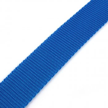 Gurtband 30 mm - PP - blau - 50-m-Rolle