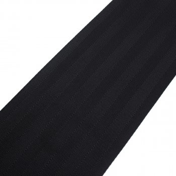 PES Gurtband - 97-99 mm - schwarz - 100-m-Rolle