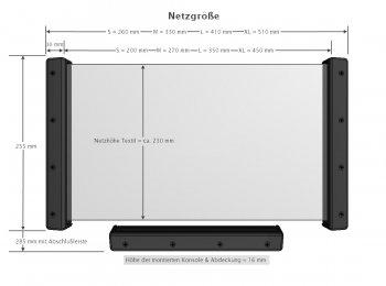 [KiiPER] Grundset liniert - Größe S - grau - Stauraum ca. 20 cm