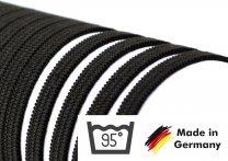 Gummiband 4 mm – 10 Meter (kochfest bis 95°) schwarz