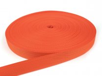 Gurtband 30 mm - PP - orange - 50-m-Rolle