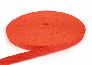 Gurtband 20 mm - PP - orange - 50-m-Rolle
