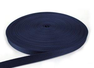 Gurtband 20 mm - PP - dunkelblau - 50-m-Rolle