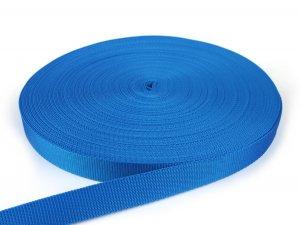 Gurtband 25 mm - PP - blau - 50-m-Rolle