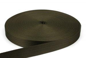 Gurtband 30 mm - PP - oliv - 50-m-Rolle