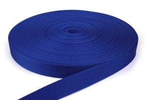 Gurtband 30 mm - PP - royalblau - 50-m-Rolle