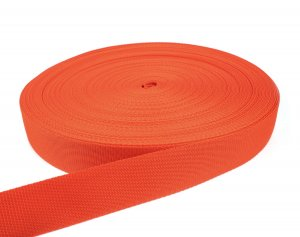 Gurtband 40 mm - PP - orange - 50-m-Rolle