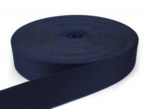 Gurtband 50 mm - PP - dunkelblau - 50-m-Rolle