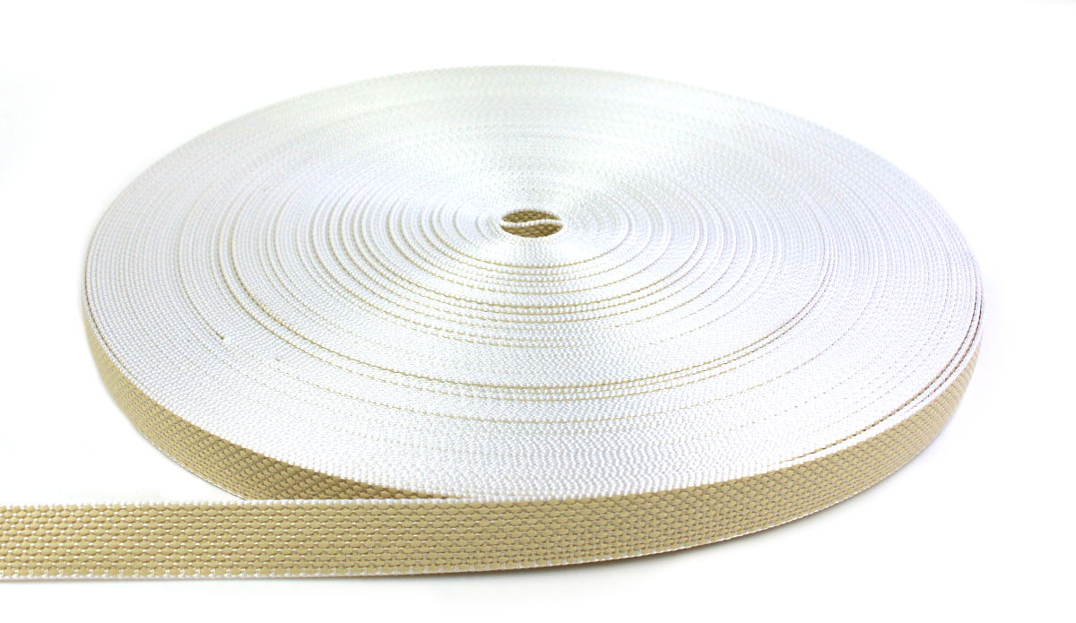 Rolladengurt 20 mm - beige 50-m-Rolle