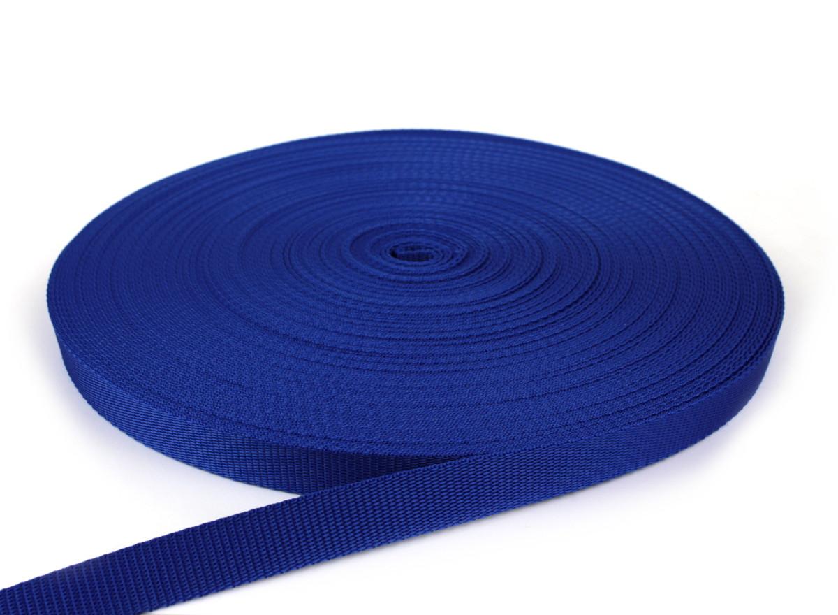 Gurtband 20 mm - PP - royalblau - 50-m-Rolle