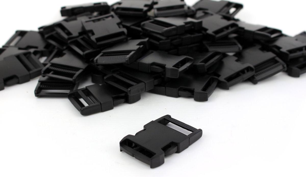 Steckschnalle - 30 mm - 50 Stück